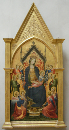 Madonna and Child with Musical Angels