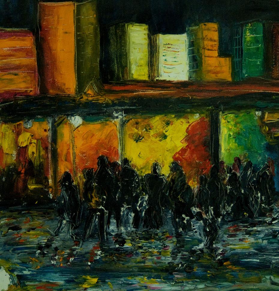 Marché de nuit / Night market