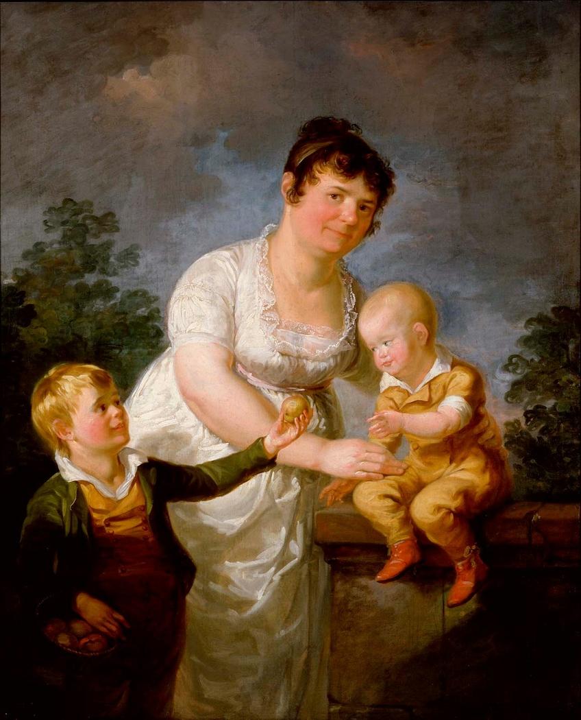 Mariana Juliana Laureus and Her Two Sons
