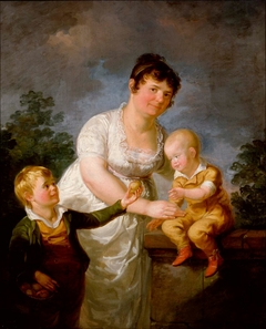 Mariana Juliana Laureus and Her Two Sons