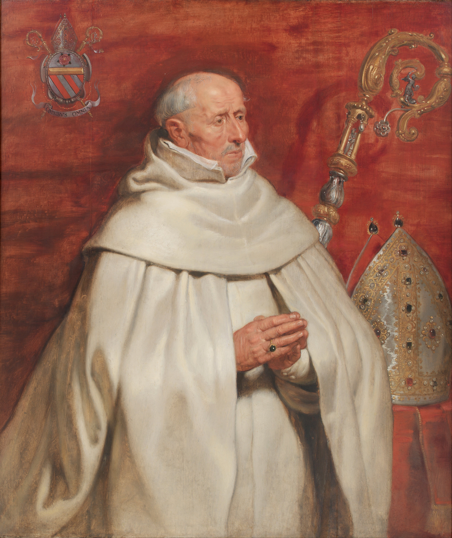 Matthaeus Yrsselius (1541-1629), Abbot of Sint-Michiel's Abbey in Antwerp