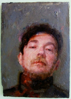 Mensur Self-Portrait