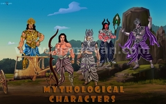Mythological Characters Modeling Design by Post Production Animation Studio