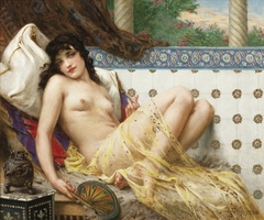 Odalisque with a Fan