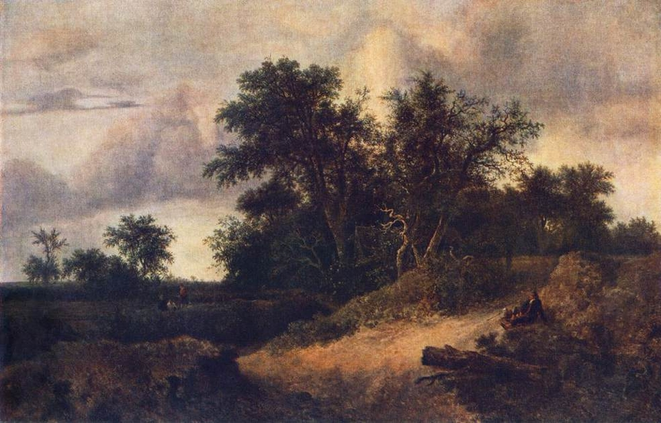 Peasant Cottage in a Landscape