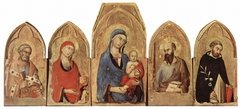 Polyptych of Saint Dominique