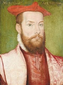 Portrait d'Odet de Coligny, cardinal de Châtillon