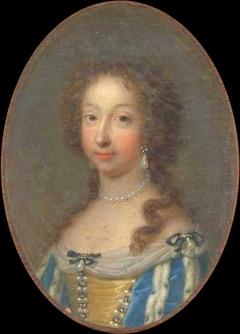 Portrait de Marie-Anne-Christine-Victoire de Bavière, femme de Louis, Dauphin