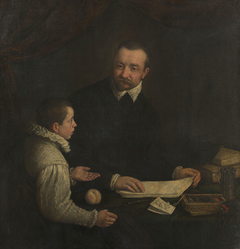 Portrait of a Boy with his Tutor