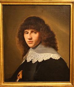 Portrait of a Man facing left