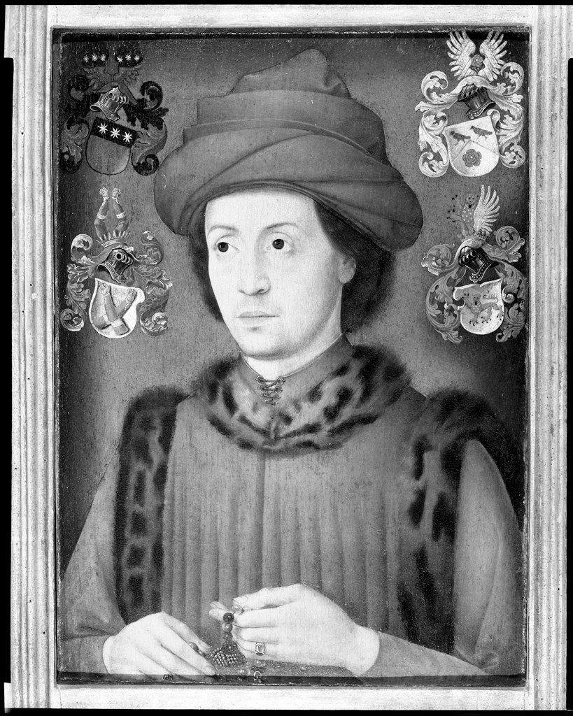 Portrait of a Man, traditionally said to be Roger, Count Blitterswyk-Geldern