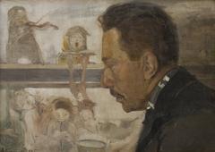 Portrait of a Musician (Krakow Composer Bolesław Raczyński)