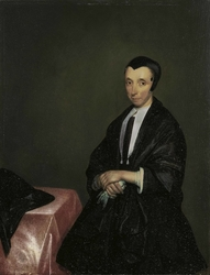Portrait of a Woman before a Table