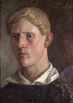 Portrait of a young Man from Setesdal