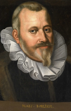 Portrait of Claes Allertsz Boelens, Bailiff of De Hoorn (Klaes van Boelisse)