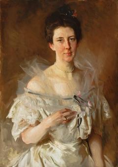 Portrait of Esther Fiske Hammond, Mrs. Gardiner Greene Hammond
