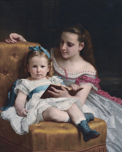 Portrait of Eva and Frances Johnston