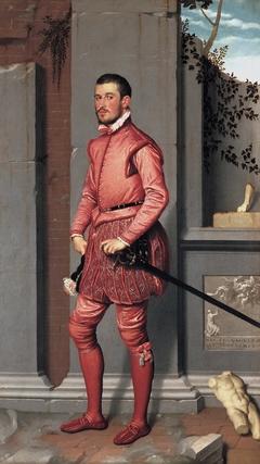 Portrait of Gian Gerolamo Grumelli (The Gentleman in Pink).
