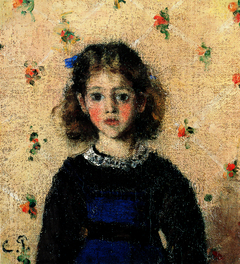 Portrait of Jeanne Pissarro, called Minette
