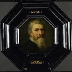 Portrait of Lubbert Gerritsz., Mennonite Teacher in Amsterdam