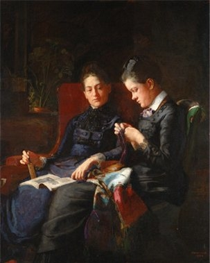 Portrait of Mary and Elizabeth Macdowell