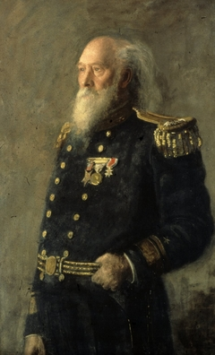 Portrait of Rear Admiral George Wallace Melville