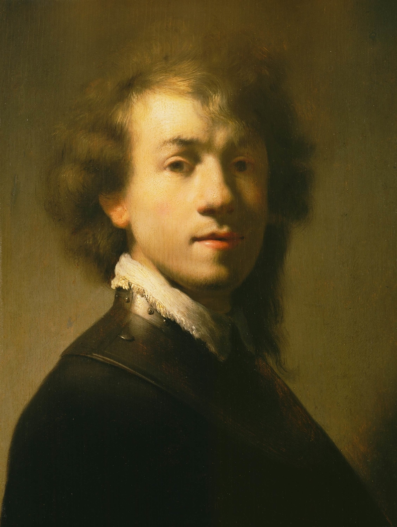 Portrait of Rembrandt with a gorget