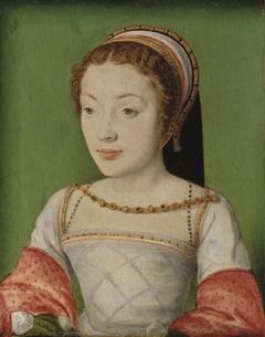 Portrait of Renée de France