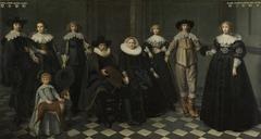 Portrait of the Family of Dirck Bas Jacobsz, Burgomaster of Amsterdam