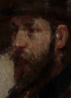 Portret van de kunsthandelaar E.J. van Wisselingh (1848-1912)