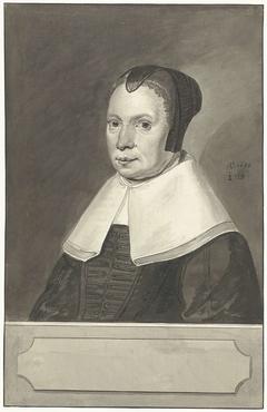 Portret van de vrouw van Jacobus Johannes Batelier