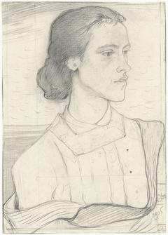 Portret van Kootje Martinet