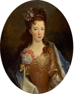 Princess Louisa Maria Teresa Stuart, 1692 - 1712. Daughter of James VII and II