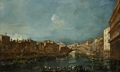 Regatta at the Rialto Bridge