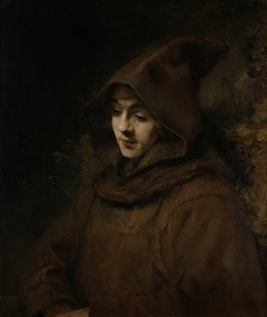 Rembrandt's Son Titus in a Monk's Habit