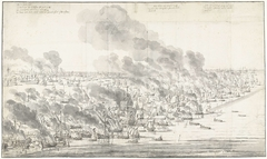 Robert Holmes Setting the Dutch Fleet on Fire at Terschelling