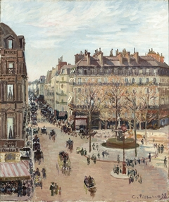 Rue Saint-Honoré, Sun Effect, Afternoon