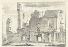 Ruïne van de abdij van Rijnsburg