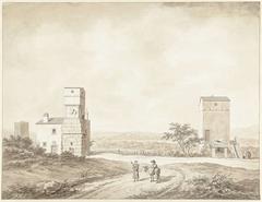 Ruïnes van de Villa Adriana nabij Tivoli