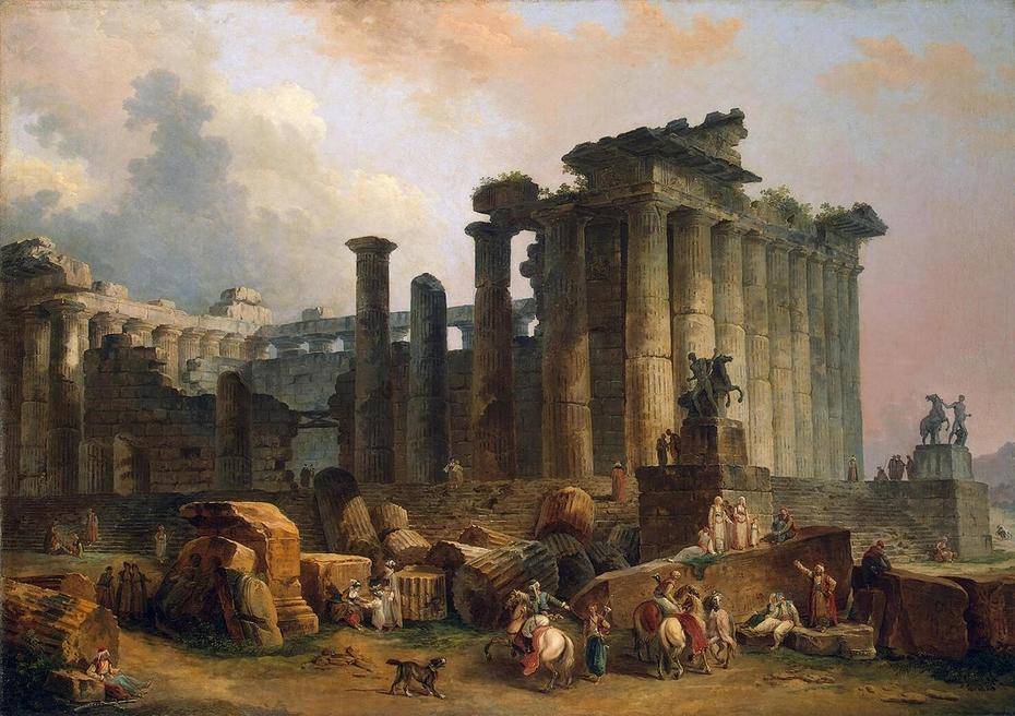 Ruins of a Doric Temple