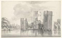 Ruins of Honingen Castle near Rotterdam
