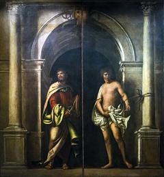 Saint Bartholomew and Saint Sebastian