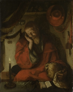 Saint Jerome in his Study by Candlelight