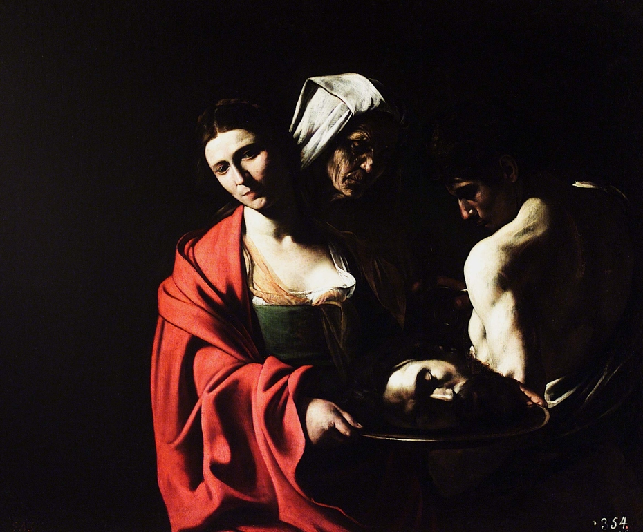 Salome with the Head of John the Baptist (Caravaggio)