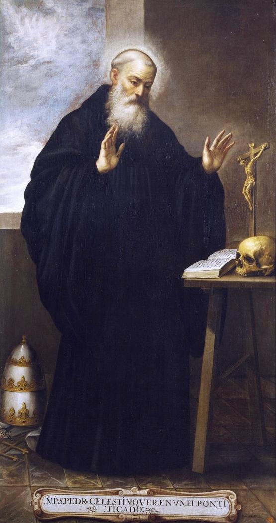San Pedro Celestino papa