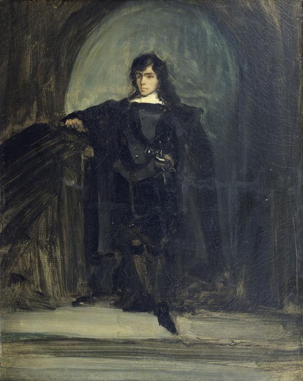 Self Portrait as Ravenswood