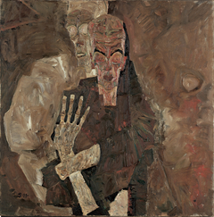 Self-Seer II (Death and Man)