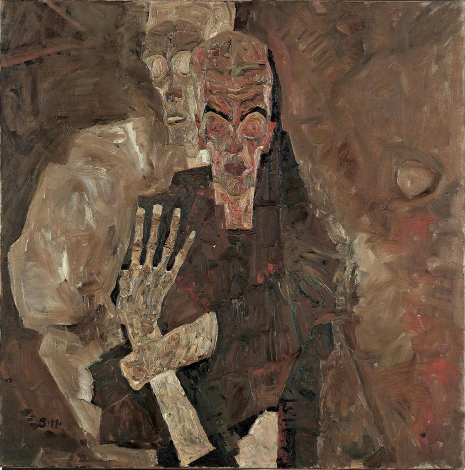 Self-Seer II (Death and Man)