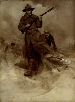 Spanish-American War Soldiers in Action