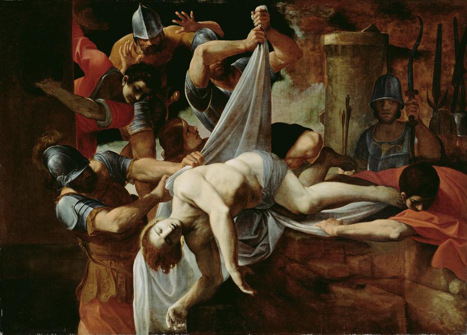 St. Sebastian Thrown into the Cloaca Maxima